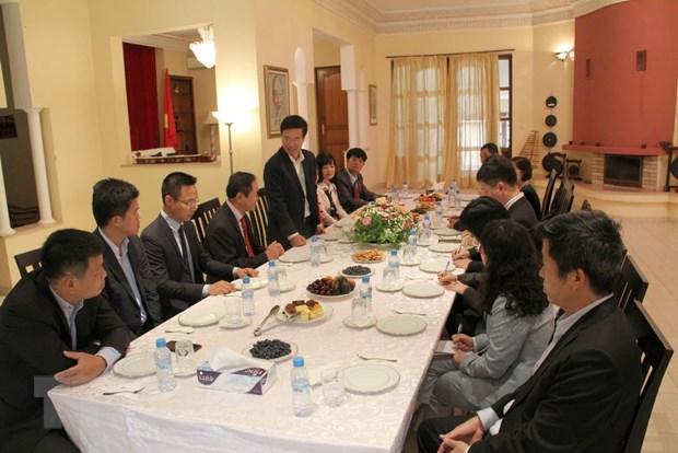 Truong ban Tuyen giao Trung uong Vo Van Thuong tham Maroc hinh anh 2