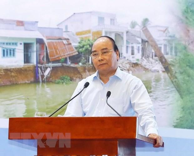 Thu tuong: Nang cao chat luong cong tac du bao, canh bao thien tai hinh anh 1