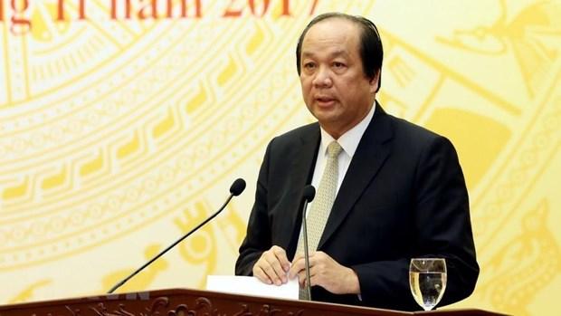 Bo truong Mai Tien Dung: Co nguoi mao danh toi di lam nhieu chuyen lam hinh anh 1