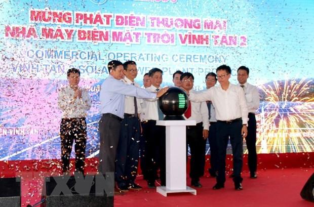 Phat dien thuong mai Nha may dien Mat Troi Vinh Tan 2 o Binh Thuan hinh anh 1