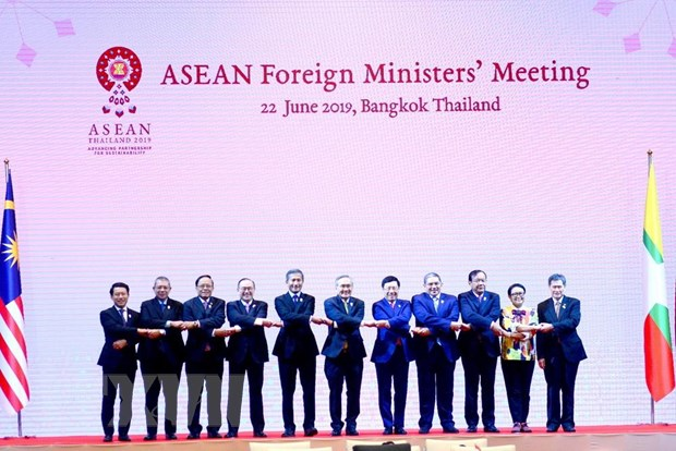 Doan Viet Nam tham du Hoi nghi Bo truong Ngoai giao ASEAN hinh anh 2