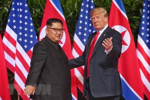KCNA: Tong thong My Trump gui thu cho nha lanh dao Trieu Tien hinh anh 1
