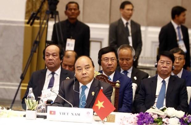 Thu tuong Nguyen Xuan Phuc du Phien toan the Hoi nghi Cap cao ASEAN 34 hinh anh 1