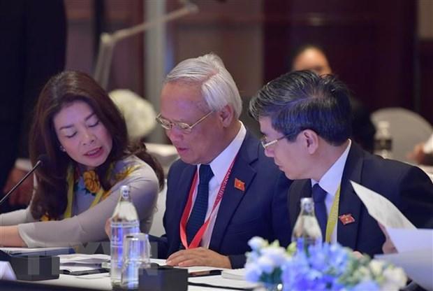 Pho Chu tich Quoc hoi Uong Chu Luu du Cuoc gap lanh dao AIPA-ASEAN hinh anh 2