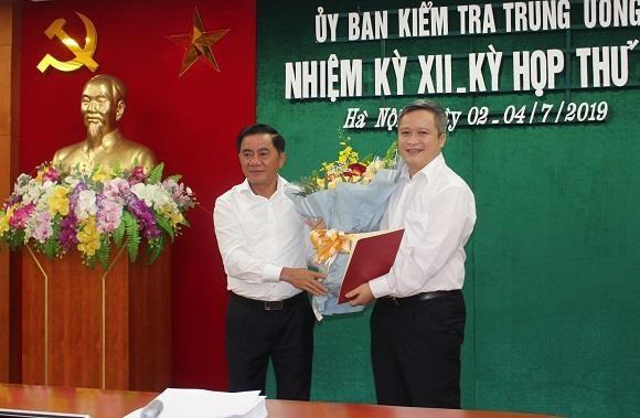 Ong Tran Tien Hung duoc luan chuyen lam Pho Bi thu Tinh uy Ha Tinh hinh anh 1