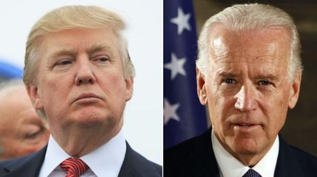 Tham do du luan: Ong Joe Biden dan truoc Tong thong My Trump hinh anh 1