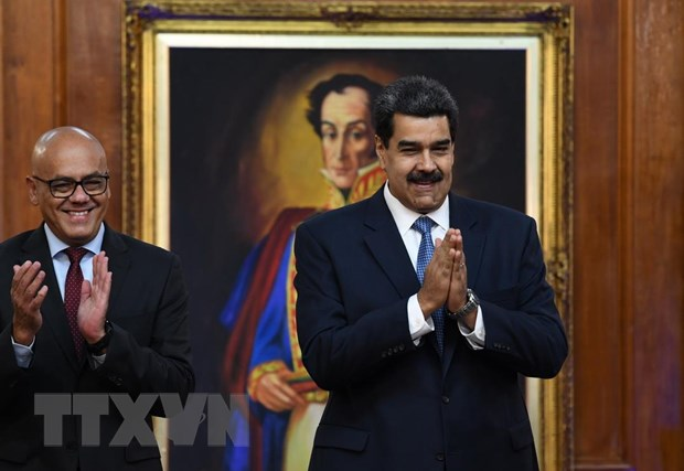 Chinh phu Venezuela va phe doi lap bat dau doi thoai tai Barbados hinh anh 1