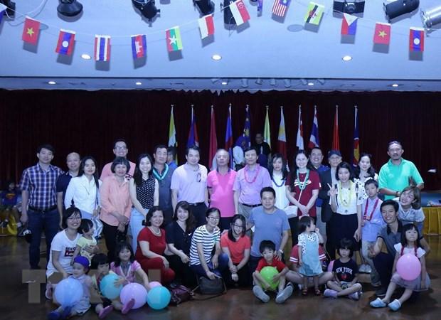 Phai doan Viet Nam tham gia Ngay hoi gia dinh ASEAN tai New York hinh anh 1