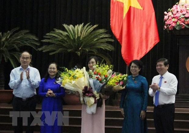 Ba Phan Thi Thang duoc bau lam Pho Chu tich HDND TP Ho Chi Minh hinh anh 1