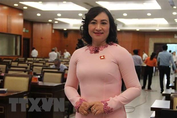Ba Phan Thi Thang duoc bau lam Pho Chu tich HDND TP Ho Chi Minh hinh anh 2