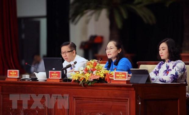 HDND Thanh pho Ho Chi Minh khoa IX thong qua 22 nghi quyet hinh anh 2
