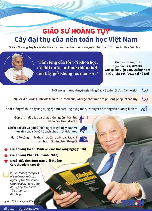 Giao su Hoang Tuy: Mot tam guong ve tai nang va nhan cach hinh anh 2