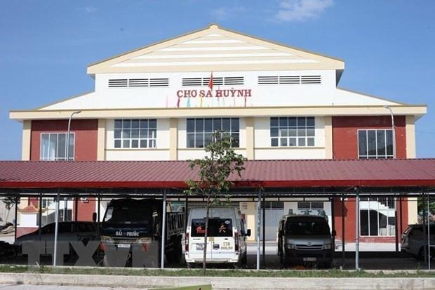 Quang Ngai: Cho hang chuc ty dong nhung vang bong tieu thuong hinh anh 2