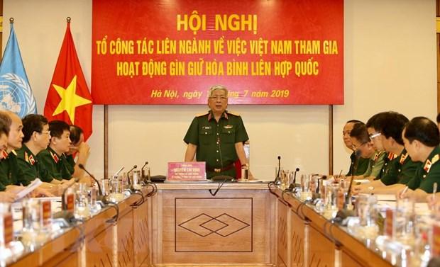 Viet Nam xem xet cu luc luong dan su tham gia gin giu hoa binh hinh anh 1