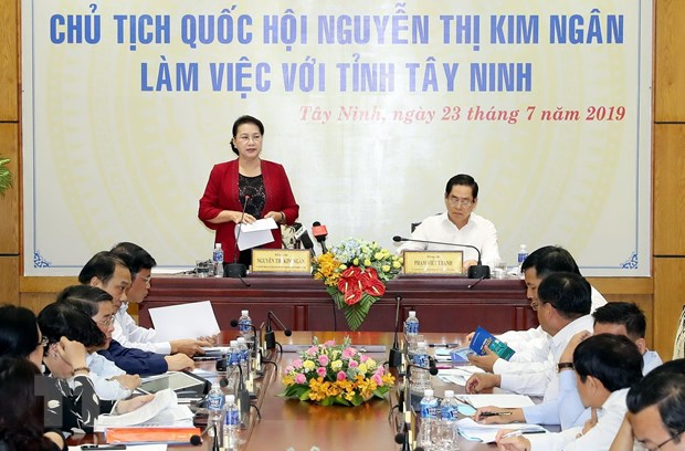 Chu tich Quoc hoi: Tay Ninh can thu hut cac nha dau tu chien luoc hinh anh 2