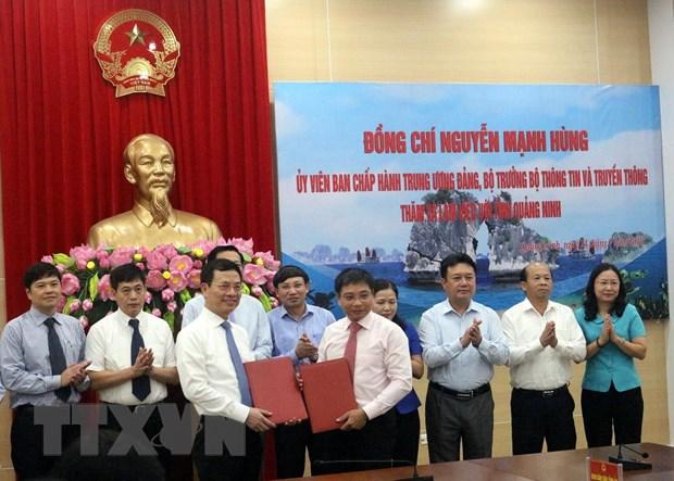 Bo Thong tin-Truyen thong uu tien dau tu ha tang mang 5G o Quang Ninh hinh anh 1