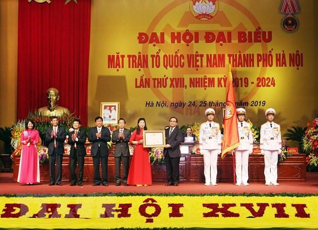 Dai hoi dai bieu Mat tran To quoc Viet Nam thanh pho Ha Noi hinh anh 2