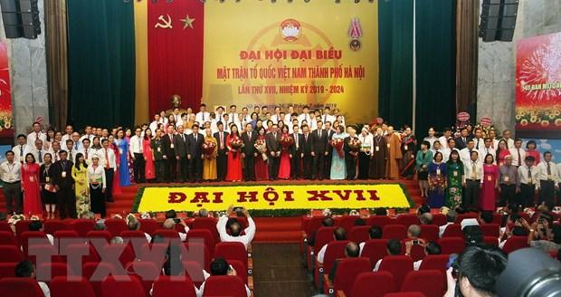 Dai hoi dai bieu Mat tran To quoc Viet Nam thanh pho Ha Noi hinh anh 3