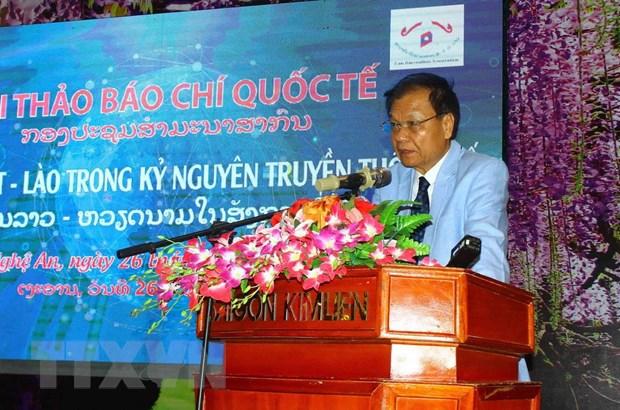 Viet-Lao day manh hop tac ve bao chi trong ky nguyen truyen thong so hinh anh 3