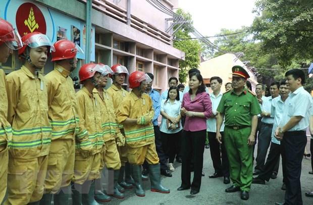 Bac Ninh tang cuong giam sat cong tac phong chay chua chay hinh anh 1