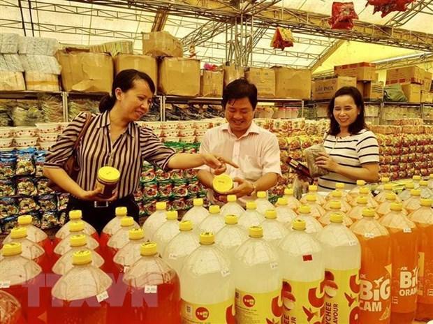 Quang Ngai da to chuc 164 phien cho dua hang Viet ve nong thon hinh anh 1