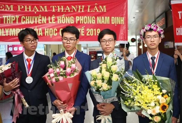 Chang trai xu Thanh 'doi mau huy chuong' Olympic Hoa hoc quoc te hinh anh 2