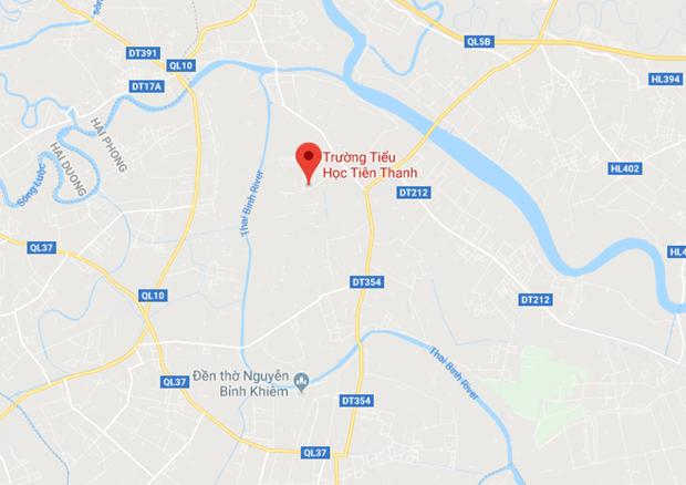 Hai Phong: Hoc sinh lop 4 tu vong o lop hoc do bi tim bam sinh hinh anh 1