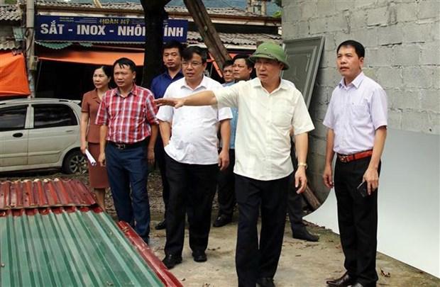 Lang Son: Xu ly cac vi pham ve dat dai tai Cua khau Tan Thanh hinh anh 2