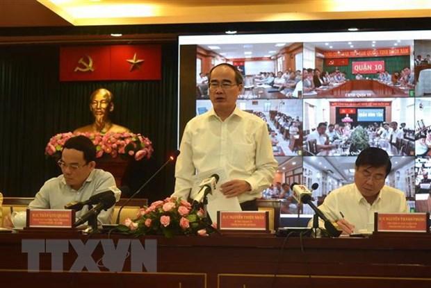 Ong Nguyen Thien Nhan: Khong be tac trong dinh huong phat trien do thi hinh anh 1