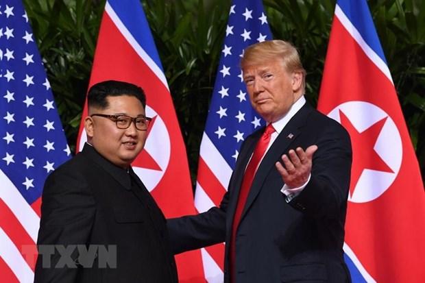 Tong thong My Trump tuyen bo co the se gap lai nha lanh dao Trieu Tien hinh anh 1