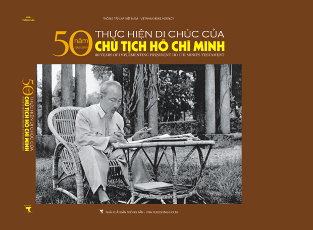 Xuat ban sach anh '50 nam thuc hien Di chuc cua Chu tich Ho Chi Minh' hinh anh 1