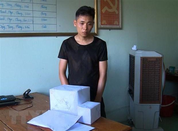 Thanh Hoa: Bat doi tuong tang tru hon 20.000 vien ma tuy tong hop hinh anh 1
