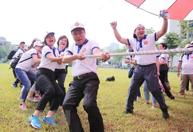 Nhieu hoat dong soi noi trong Ngay Gia dinh ASEAN 2019 tai Ha Noi hinh anh 1
