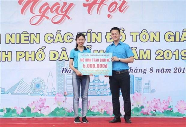 Ngay hoi thanh nien cac ton giao nam 2019 tai thanh pho Da Nang hinh anh 1
