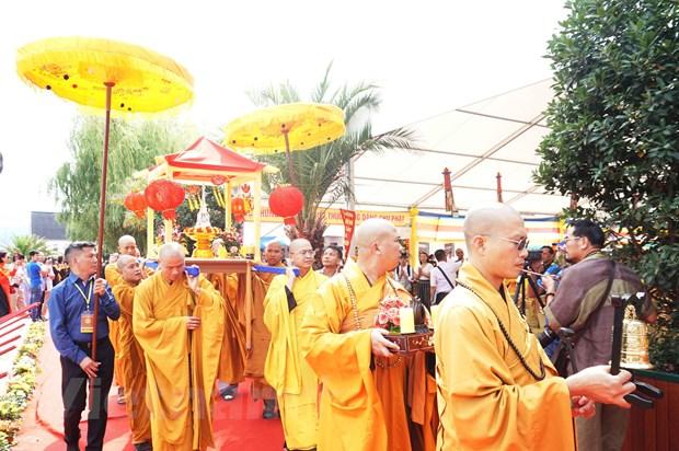 Dai le Vu Lan va khoi cong xay dung chua Vinh Nghiem tai Sec hinh anh 1