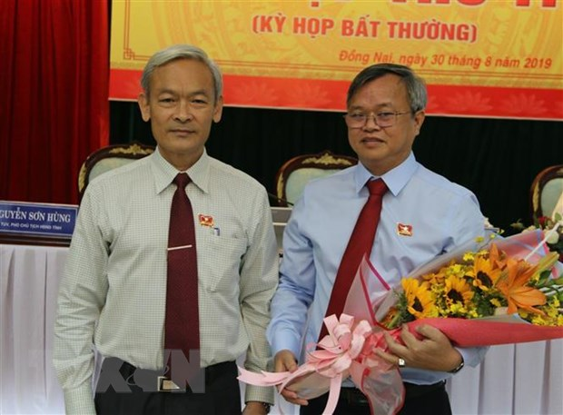 Ong Cao Tien Dung duoc bau giu chuc Pho Bi thu Tinh uy Dong Nai hinh anh 1