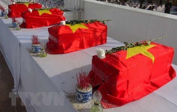 An tang 14 hai cot liet sy hy sinh trong khang chien chong Phap hinh anh 1