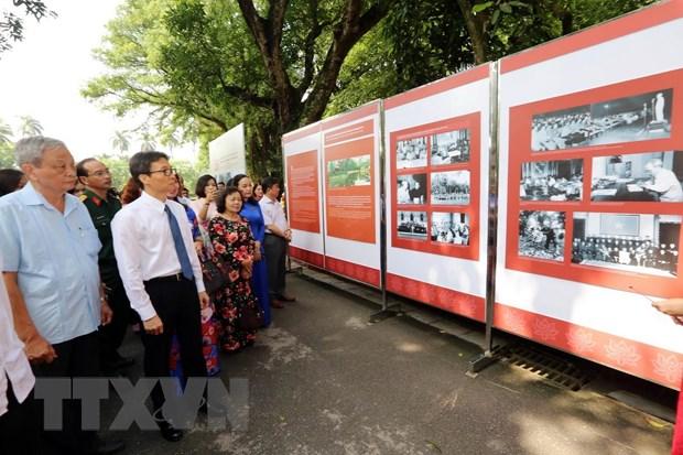 50 nam bao ton va phat huy gia tri Khu Di tich Chu tich Ho Chi Minh hinh anh 1