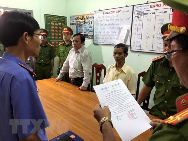 Bat tam giam Pho Chu tich Uy ban Nhan dan thanh pho Phan Thiet hinh anh 1