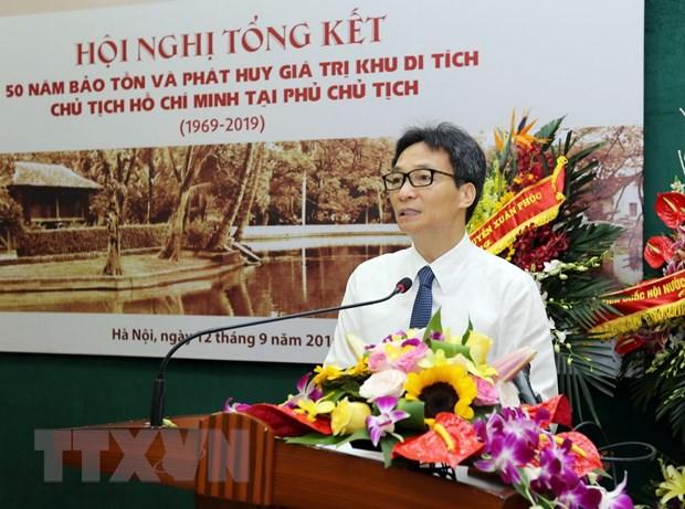 50 nam bao ton va phat huy gia tri Khu Di tich Chu tich Ho Chi Minh hinh anh 2