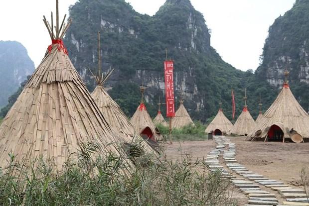 Thao do phim truong 'Kong: Skull Island' tai Khu du lich Trang An hinh anh 1