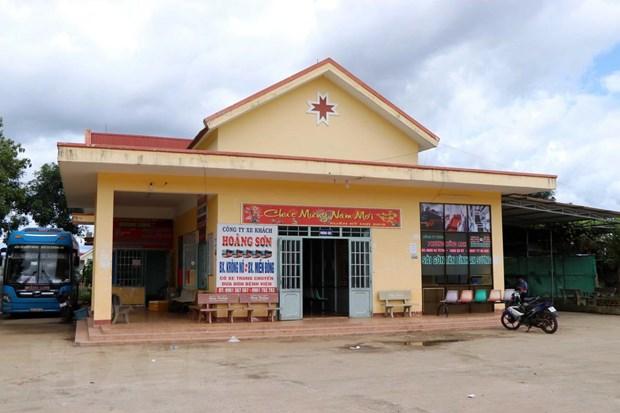 Dak Nong: Xu ly sai pham trong du an Ben xe huyen Krong No hinh anh 1