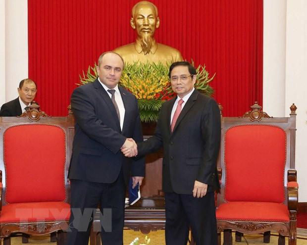 Viet Nam-Belarus phan dau dat kim ngach thuong mai 500 trieu USD hinh anh 1