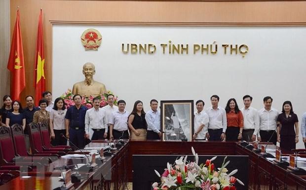 TTXVN va tinh Phu Tho day manh cong tac thong tin, truyen thong hinh anh 3