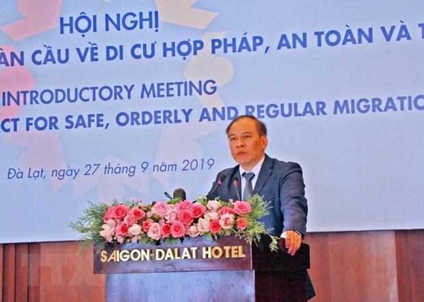 Viet Nam tich cuc tham gia Thoa thuan toan cau ve di cu hop phap hinh anh 1