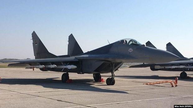 Slovakia: Roi may bay quan su Mig-29, phi cong thoat nan hinh anh 1
