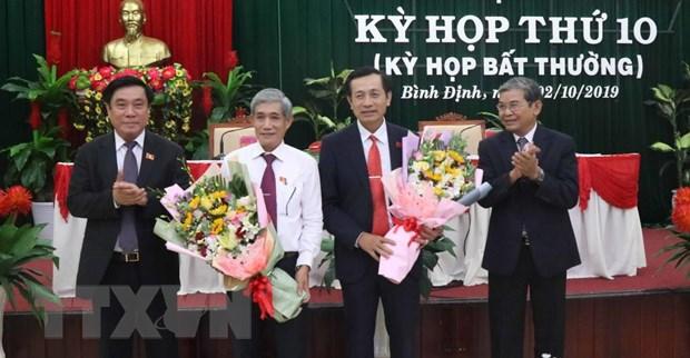 Ong Doan Van Phi duoc bau giu chuc Pho Chu tich HDND tinh Binh Dinh hinh anh 1