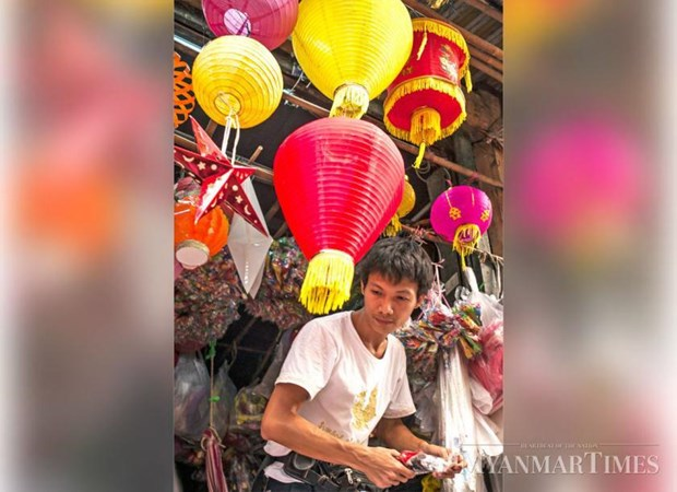 Myanmar: Ruc ro den long truyen thong truoc Le hoi anh sang Thadingyut hinh anh 1