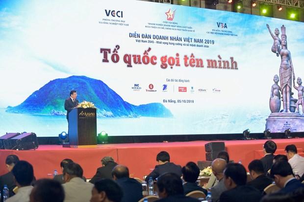 Pho Thu tuong Trinh Dinh Dung du Dien dan Doanh nhan Viet Nam hinh anh 1