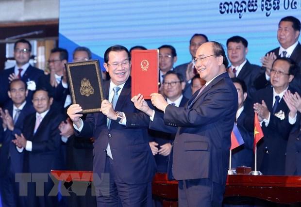 Viet Nam-Campuchia sap hoan thanh cong tac phan gioi, cam moc hinh anh 1